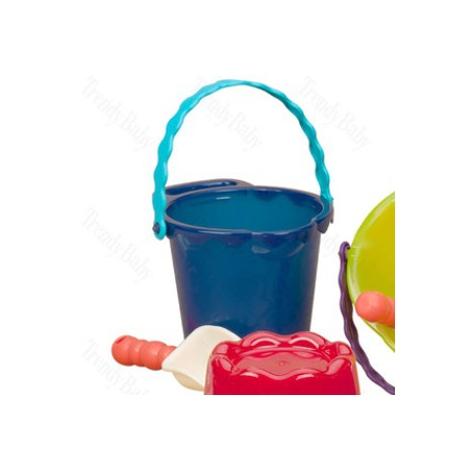 B.TOYS Kyblík s lopatkou střední modrá