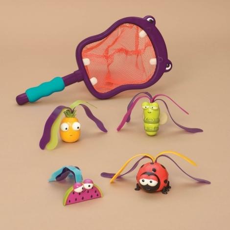 B.TOYS Podběrák s hračkami potápění Hroch Hubba