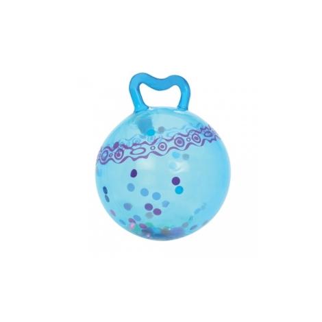 B.TOYS Skákací míč Hop n' Glow modrý