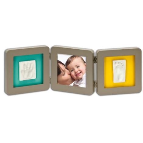 BABY ART Modern Trendy Double Print Frame béžová