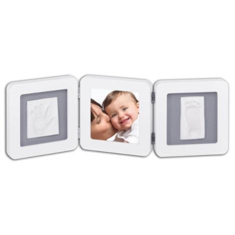 BABY ART Modern Trendy Double Print Frame bílá