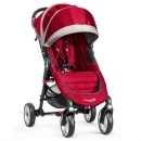 BABY JOGGER City Mini 4 kola Crimson/Gray