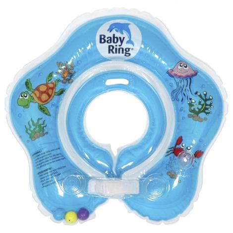 BABY RING kruh na koupání 3 - 36 měsíců modrá