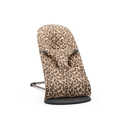 BABYBJÖRN Lehátko Bliss Beige Leopard Print Cotton