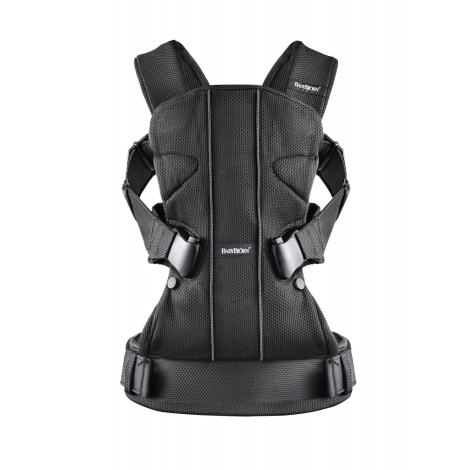 BABYBJÖRN One ergonomické nosítko Mesh Black