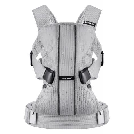 BABYBJÖRN One ergonomické nosítko Mesh Silver