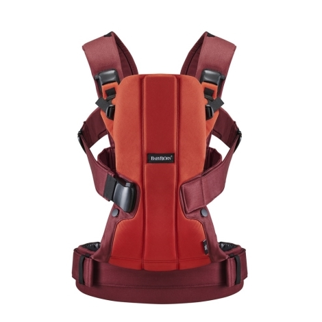 BABYBJÖRN We ergonomické nosítko Cotton Orange/Rust