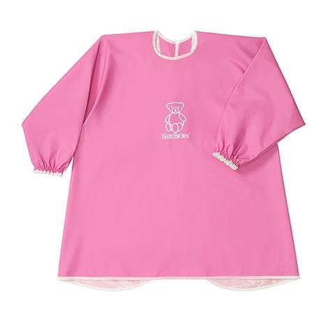 BABYBJÖRN Zástěrka na hraní a krmení (8měs-3roky) Smock Pink