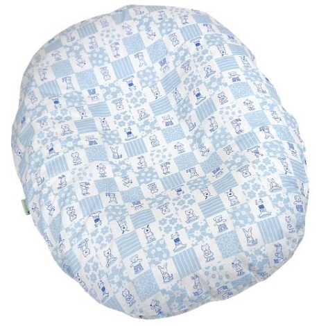 BABYRENKA Kojenecký relaxační polštář Mimi Blue