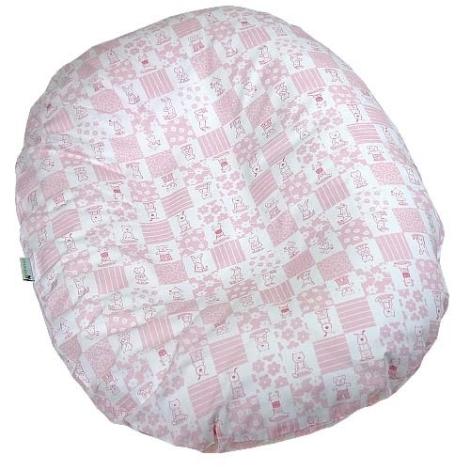BABYRENKA Kojenecký relaxační polštář Mimi Pink