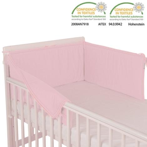 BABYRENKA límec rovný Uni pink 180cm