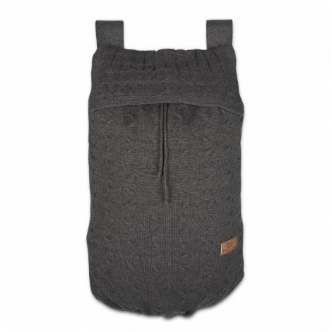 BABYS ONLY Cable Uni Bag Taška na postýlku Anthracite