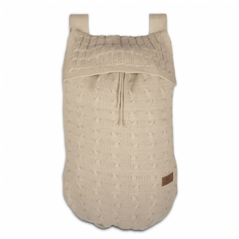 BABYS ONLY Cable Uni Bag Taška na postýlku Beige