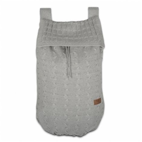 BABYS ONLY Cable Uni Bag Taška na postýlku Light Grey