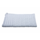 BABYS ONLY Cable Uni Blanket Dětská deka 130 x 100 cm Light Grey