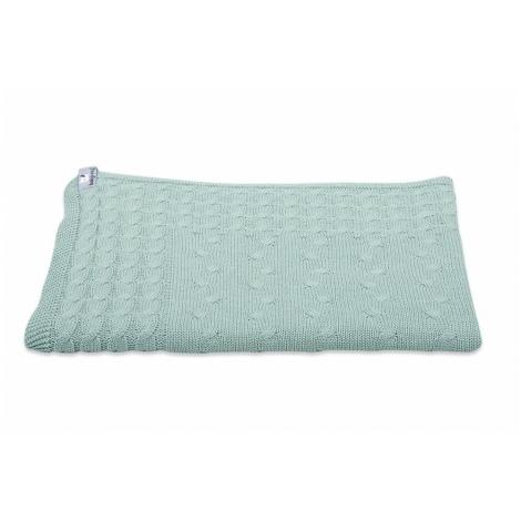 BABYS ONLY Cable Uni Blanket Dětská deka 130 x 100 cm Mint