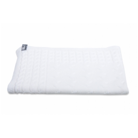 BABYS ONLY Cable Uni Blanket Dětská deka 130 x 100 cm White