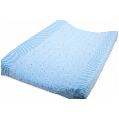 BABYS ONLY Cable Uni Changing Pad Cover Povlak na přeb. podl. Baby Blu