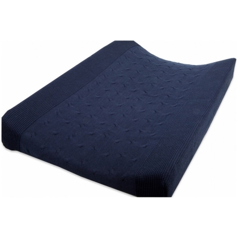 BABYS ONLY Cable Uni Changing Pad Cover Povlak na přeb. podl. Dark Blu