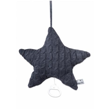 BABYS ONLY Cable Uni Musicbox Star Hrací hvězda Anthracite