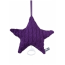 BABYS ONLY Cable Uni Musicbox Star Hrací hvězda Purple