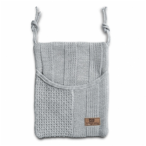BABYS ONLY Robust Decoration Bag Taška na postýlku Light Grey