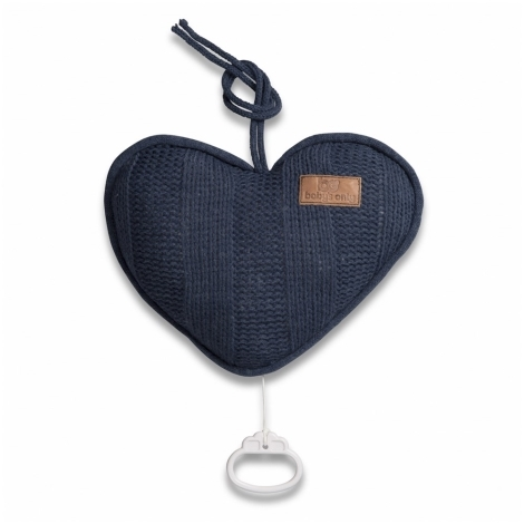 BABYS ONLY Robust Musicbox Heart Hrací srdce Kobalt