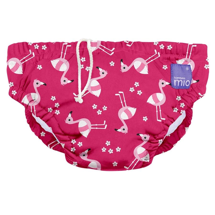 Doprava zdarma. Více variant. BAMBINOMIO Kojenecké plavky Pink Flamingo d8c1e25075