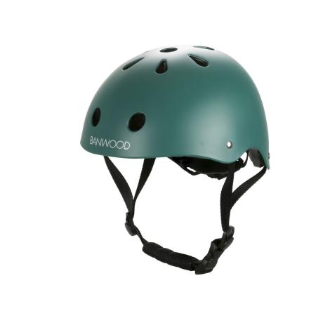 BANWOOD Dětská helma tmavě zelená