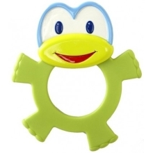 BRIGHT STARTS Dancing Teether Friends zelená