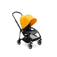 BUGABOO Bee5 Kompletní kočárek Black/Grey Melange/Sunrise Yellow
