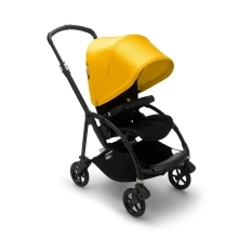 BUGABOO Bee6 Kompletní kočárek Black/Black/Lemon Yellow
