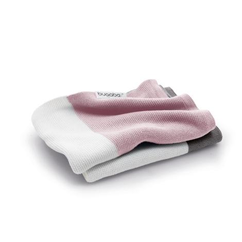 BUGABOO Lehká bavlněná deka Soft Pink Multi