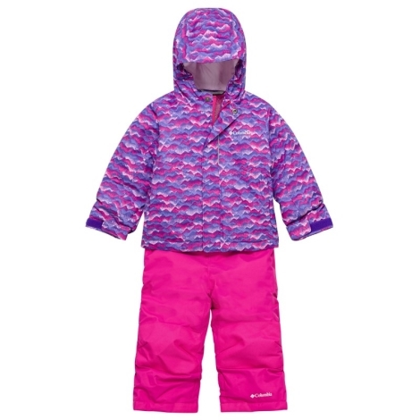 COLUMBIA Buga Set Pink Clover Trees 2019 vel. 4T