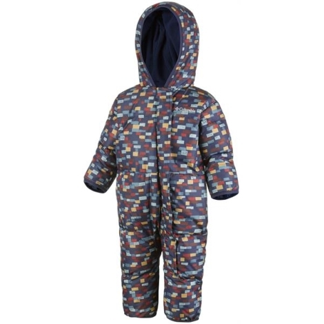 COLUMBIA Snuggly Bunny Bunting Collegiate Navy Print 6/12