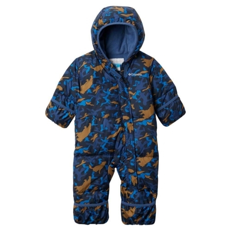 COLUMBIA Snuggly Bunny Bunting Night Tide Camo Critter 12/18