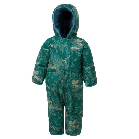 COLUMBIA Snuggly Bunny Bunting Pine Green Conttinents Camo, Blue Heron 2019 3/6