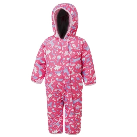 COLUMBIA Snuggly Bunny Bunting Pink Ice Reindeer, Pink Clover 2019 18/24