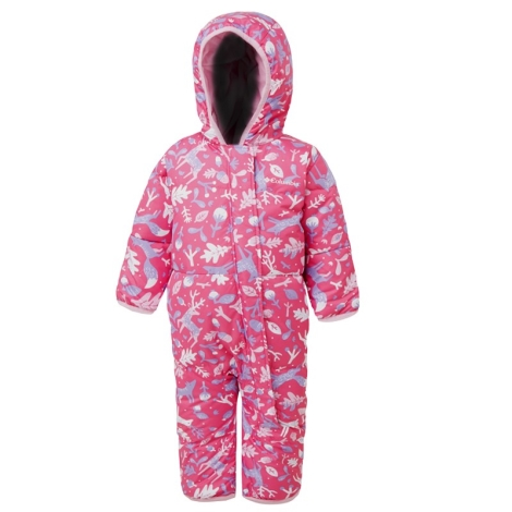 COLUMBIA Snuggly Bunny Bunting Pink Ice Reindeer, Pink Clover 2019 6/12