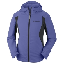 COLUMBIA Splash Flash Hooded Softshell Fairytale