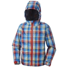 COLUMBIA Splash Maker II Rain Jacket Spicy Plaid