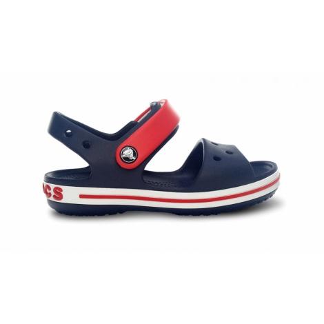 CROCS Crocband Sandal Navy/Red vel. 28/29