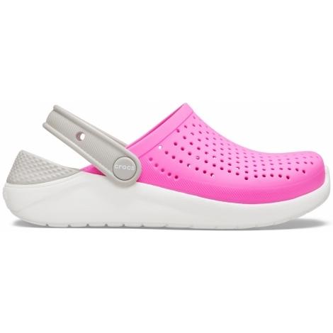 CROCS Literide Clog K Pink/White vel. 30/31