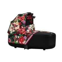 CYBEX Priam Lux Carry Cot Fashion Spring Blossom Dark 2020