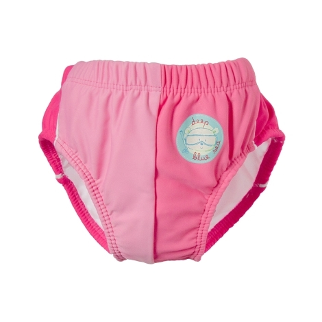 DIMO-TEX Plavky plenkové s potiskem medvídka růžové 62 - 68