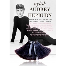 DOLLY sukně Audrey Hepburn (black)