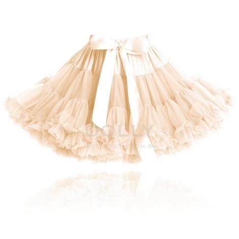 DOLLY sukně Slonovinová princezna (ivory) large