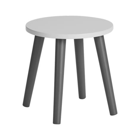 DONE BY DEER Dětská stolička šedá