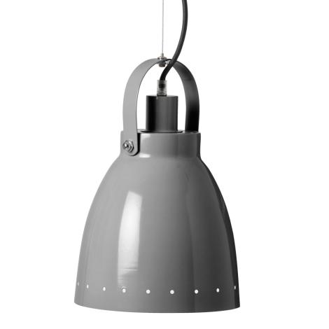 DONE BY DEER Kovová lampa šedá