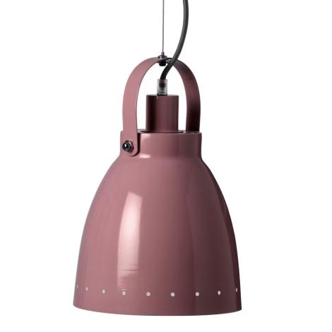 DONE BY DEER Kovová lampa tmavě růžová